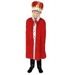 Cape roi garçon 80 cm Accessoires de fête 31250811