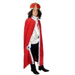 Cape de roi adulte 130 cm Accessoires de fête 31250812