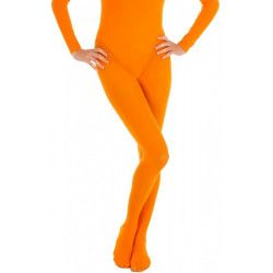Collants opaque orange adulte taille L-XL Accessoires de fête 842507314