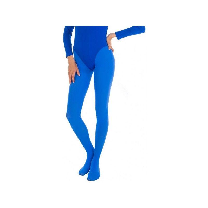 Collants opaque bleu adulte taille L-XL Accessoires de fête 842507316
