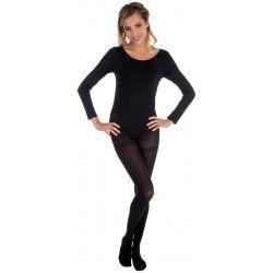 Accessoires de fête, Body manches longues noir adulte taille S-M, 842507891, 14,80€