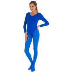 Accessoires de fête, Body manches longues bleu adulte taille L-XL, 842507906, 14,80€