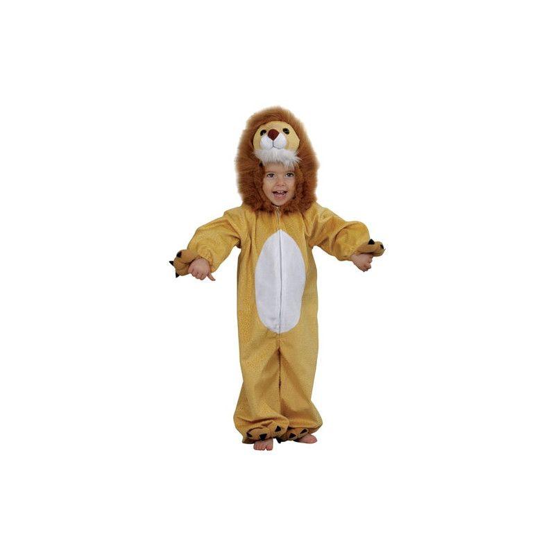 Déguisements, Déguisement lion peluche enfant 2-3 ans, C1015096, 24,90€