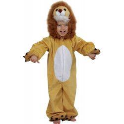 Déguisements, Déguisement lion peluche enfant 3 ans, C1015104, 24,90€