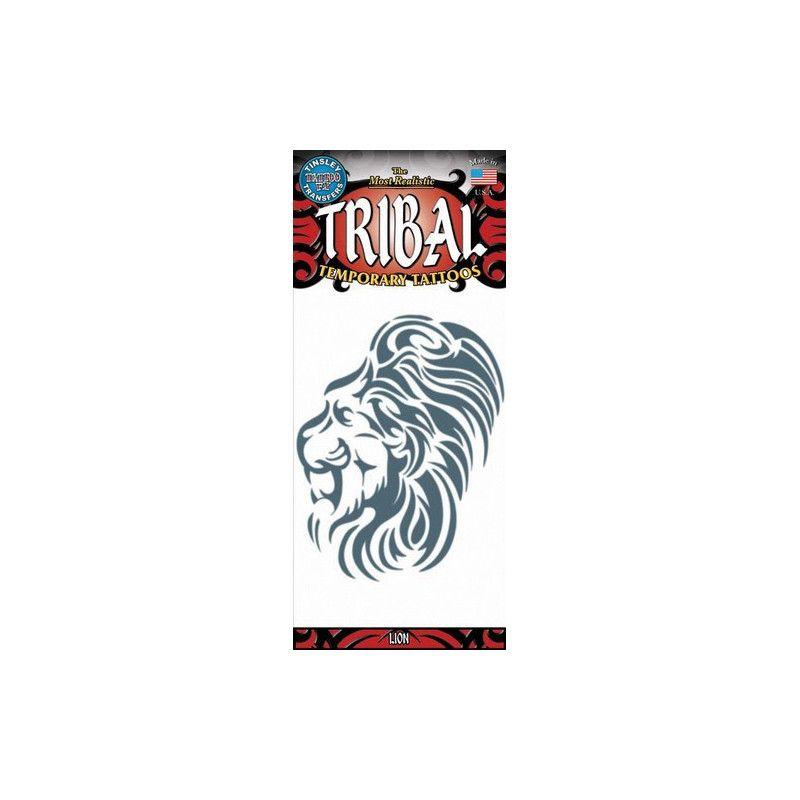 Accessoires de fête, Tatouage tribal lion temporaire, TL-616, 4,50€