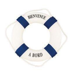 Déco festive, Bouée Bienvenue à bord 32 cm, 80550CHAKS, 12,50€