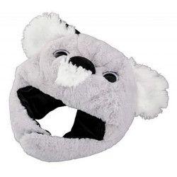 Bonnet koala gris adulte taille unique