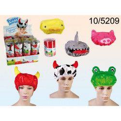 Bonnet de bain funny animals Accessoires de fête 105209
