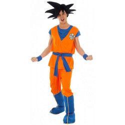 Déguisement Goku Saiyan Dragon Ball Z™ adulte Déguisements C4369-2