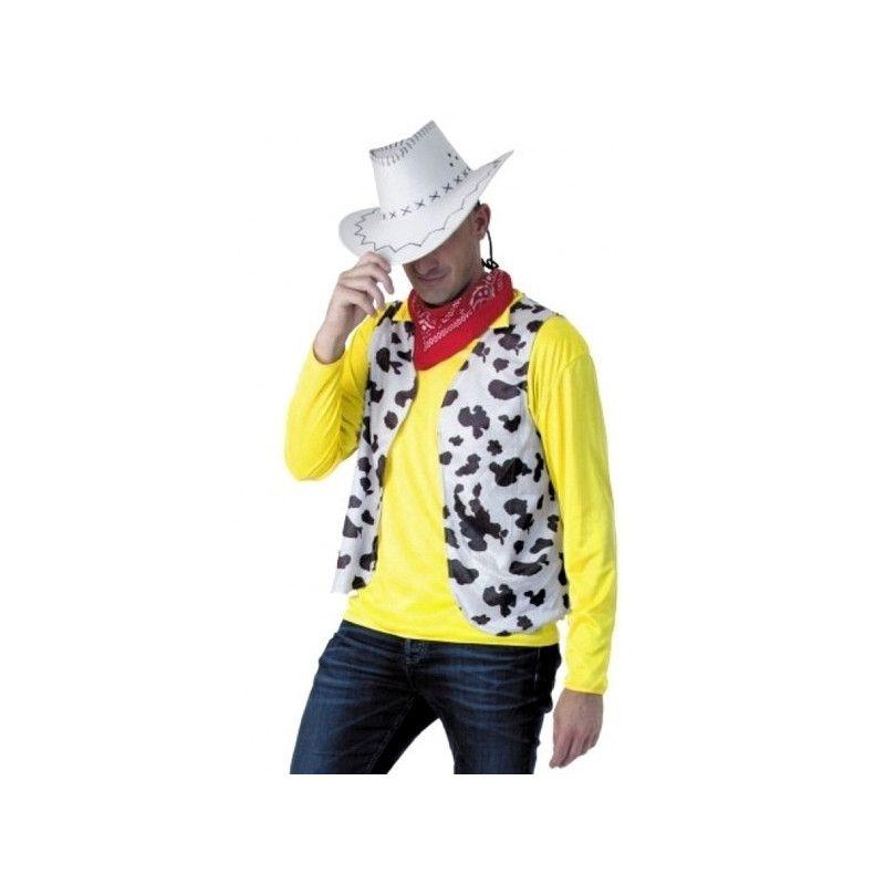 Kit déguisement cow boy lucky adulte Déguisements 865119