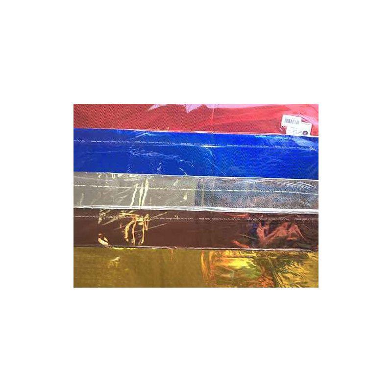 Feuilles papier cadeau laser 50 x 70 cm x 100 feuilles Déco festive 826757