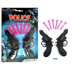 Panoplie police avec flèches et 2 pistolets Jouets et kermesse 27455