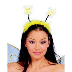Accessoires de fête, Serre-tête avec antennes abeille, 16575, 3,70€