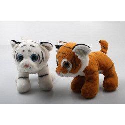 Peluche tigre aux gros yeux 26 cm Jouets et kermesse 2304PAUL