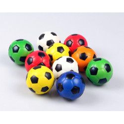 Ballon foot 6 cm vendu par 24 Jouets et articles kermesse 6017