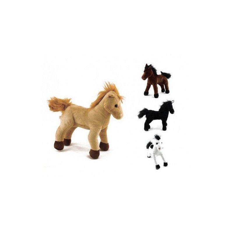 Peluche cheval 22 cm Jouets et articles kermesse 5100