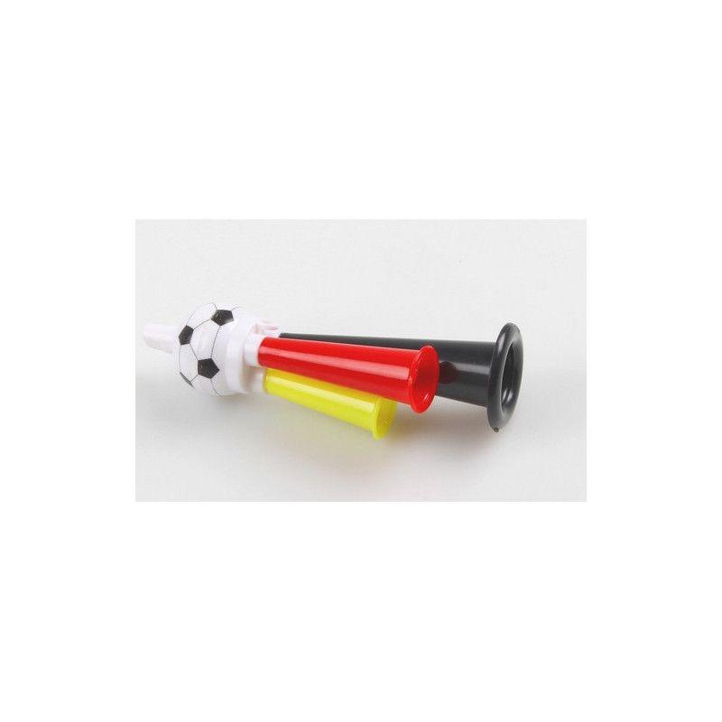 Corne supporter football 12 cm vendue par 57 Déco festive 6310PAUL