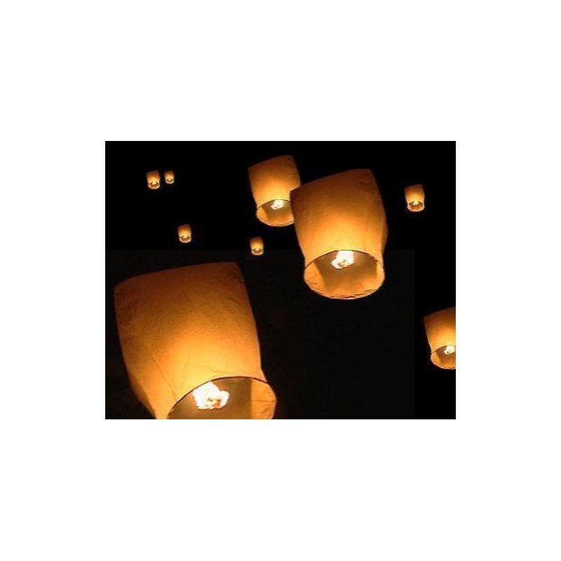 Lanterne céleste blanche 86 cm Déco festive 14200P