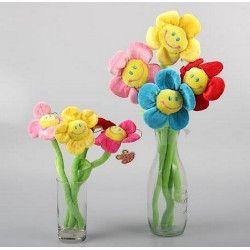 Peluche Fleur sourire 45 cm Jouets et kermesse 800