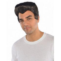 Accessoires de fête, Perruque noire homme années 50, 840363, 13,50€