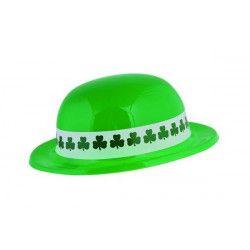 Chapeau melon vert St. Patrick Accessoires de fête 60560