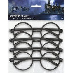 Quatre paires de lunettes Harry Potter™ Accessoires de fête U59071