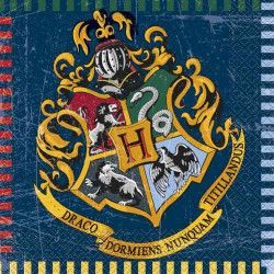 Serviettes 33 cm Harry Potter™ x 16 Déco festive U59102