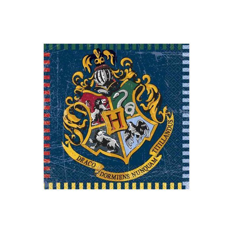 Serviettes 33 cm Harry Potter™ x 16 Déco festive U59102