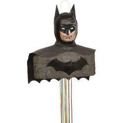 Déco festive, Pinata anniversaire Batman 3D avec ficelles, U66185, 22,90€