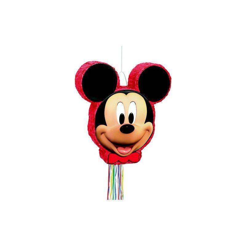 Pinata Anniversaire Mickey Mouse Avec Ficelles Déco Festive Izdegu
