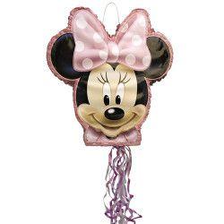 Déco festive, Pinata anniversaire Minnie Mouse avec ficelles, U66319, 22,90€