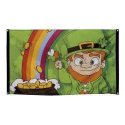 Drapeau St Patrick's Day 150 cm Déco festive 44902