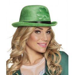 Chapeau melon vert St Patrick's Day adulte Accessoires de fête 44911
