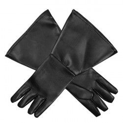 Gants noirs western adulte Accessoires de fête 54324