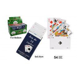 Jouets et kermesse, Lot 18 jeux de 54 cartes à jouer, 25062-LOT, 0,39€