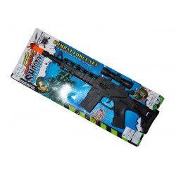 Panoplie pistolets, Mitraillette bruiteur jouet kermesse, 8511, 1,10€