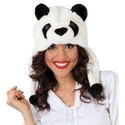 Coiffe de panda adulte Accessoires de fête 41183