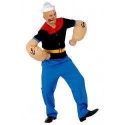 Déguisements, Déguisement de Popeye taille unique, 80376, 34,90€