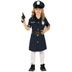 Déguisements, Déguisement police fille, 8845-, 18,90€