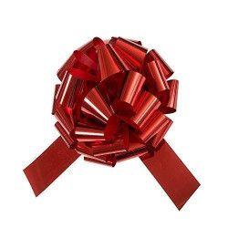 Gros noeud à tirer rouge 46 cm Déco festive U63603