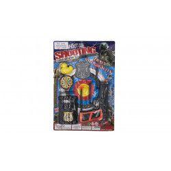 Panoplie de police avec accessoire kermesse Jouets et articles kermesse 6197