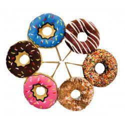 Peluche donut 12 cm Jouets et articles kermesse 1765