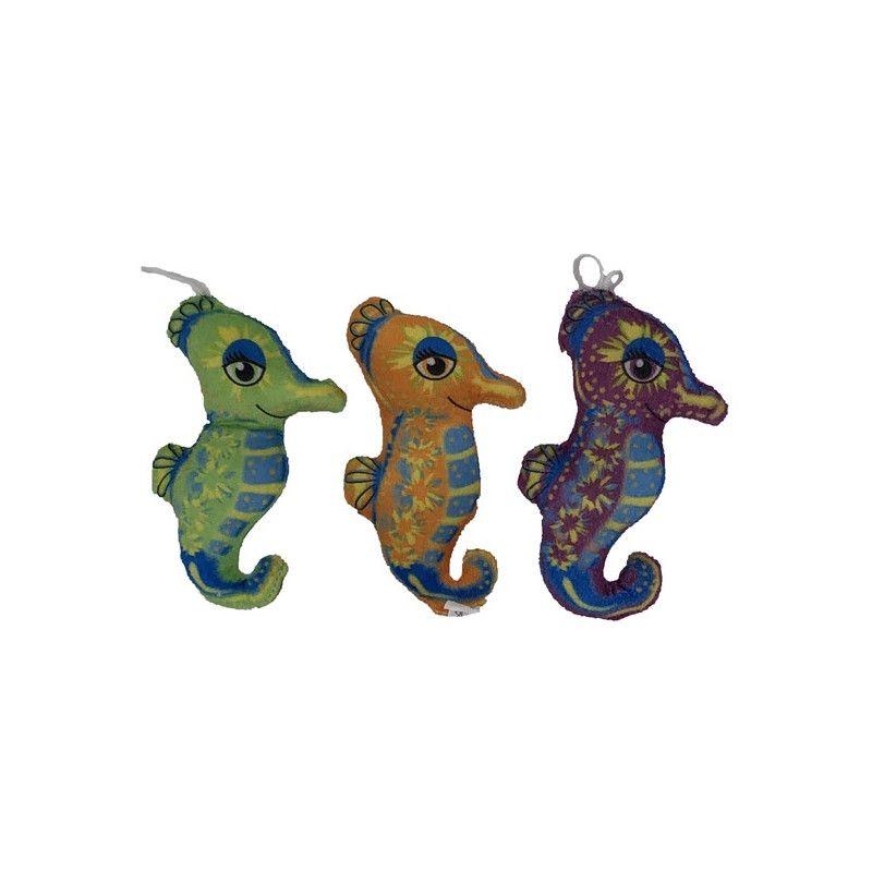 Peluche hippocampe 14 cm vendue par 24 Jouets et kermesse 3882
