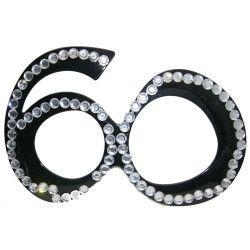 Lunettes anniversaire 60 ans Accessoires de fête 82602