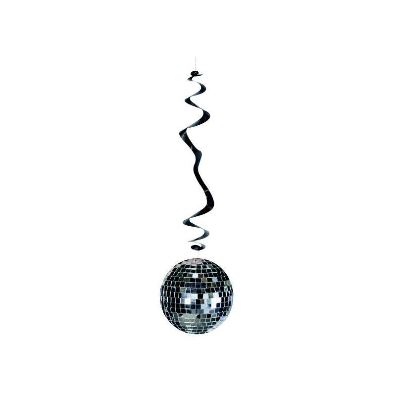 Lot 6 suspensions boule disco ignifiugée Déco festive 420505
