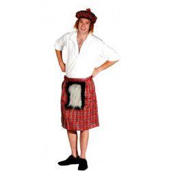 Déguisements, Costume Ecossais adulte taille unique, 873153, 16,90€