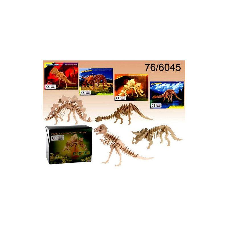 Puzzle en bois Squelette de dinosaure 3D Jouets et kermesse 766045