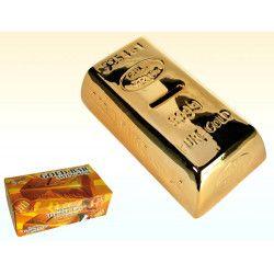 Tirelire lingot d'or en céramique Déco festive 784010