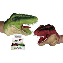 Marionnette dinosaure en latex 15 cm Jouets et articles kermesse 592087