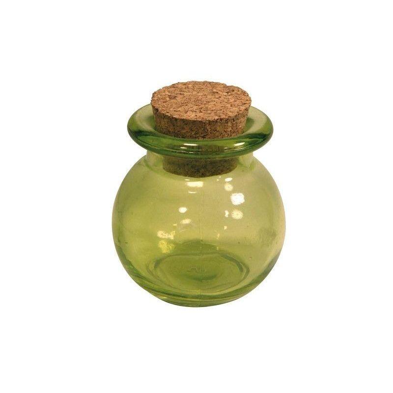 Pot à dragées boule vert tilleul Cake Design 1700005-VT